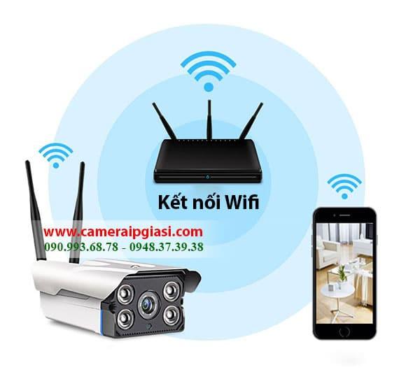 Camera IP wifi chỉ cầm cắm điện là chạy, cài đặt dễ dàng, tiết kiệm chi phí, dễ dàng vận chuyển,…