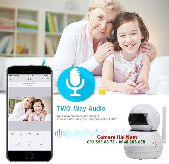 Các tính năng ưu việt của Camera quan sát qua mạng Wifi