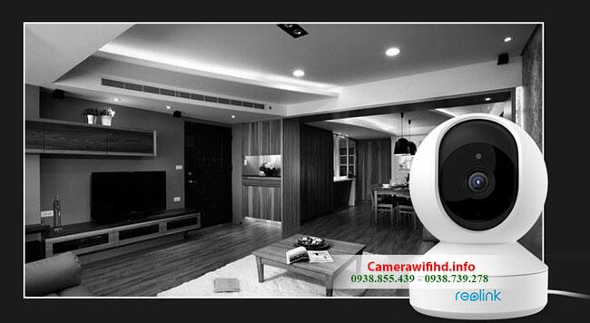 Camera Wifi không dây Reolink E1 Pro 4MP Siêu nét 2K đẳng cấp từ Hồng Kông