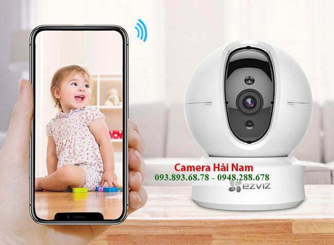 Camera Wifi EZViz 1.0 HD 720P Quét góc ngang 360 thông minh